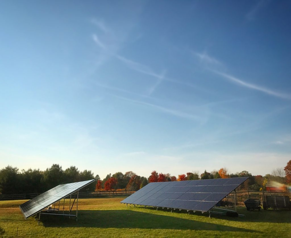 Ground Mount Solar Arrays For PA, NJ & NY | Evoke Solar Inc